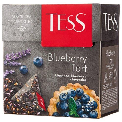 Чай черный TESS Blueberry Tart в пирамидках , 20 шт. чай черный tess blueberry tart