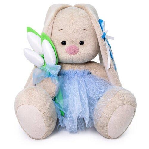 Купить Мягкая игрушка Зайка Ми с тюльпанами 23 см, Мягкие игрушки