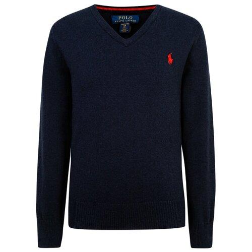 Купить Пуловер Ralph Lauren размер 92, синий, Джемперы и толстовки