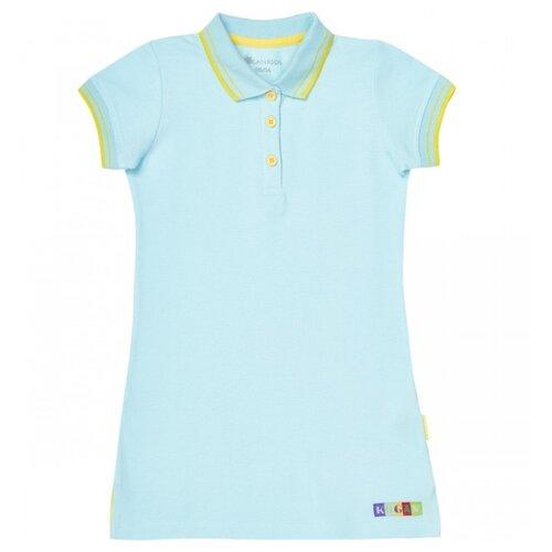 Платье Kogankids размер 98, голубой платье для девочки let s go цвет голубой 8150 размер 98