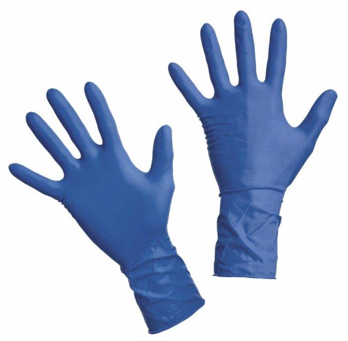 Перчатки смотровые WRP Dermagrip High Risk