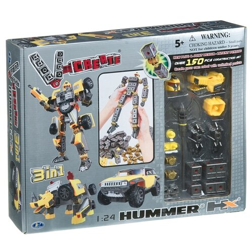 Конструктор Happy Well 1:24 V-Create Construction Set 3in1 54020 Hummer HX happy well