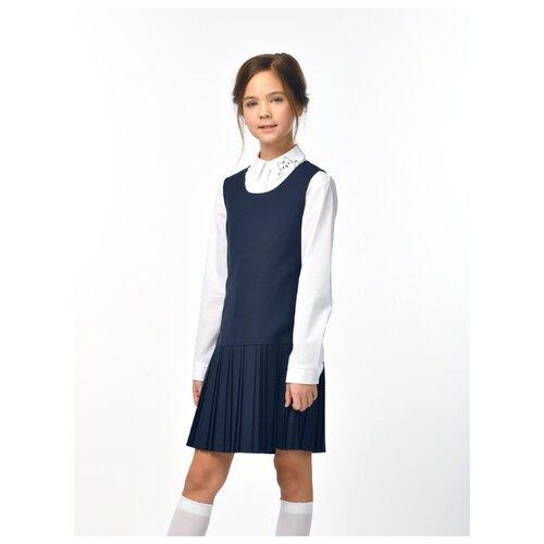 Купить Сарафан SMENA размер 158/80, синий, Платья и сарафаны