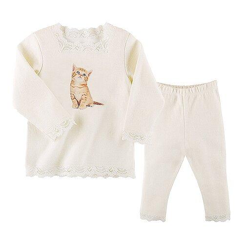 Купить Пижама Наша мама размер 110, молочный, Домашняя одежда