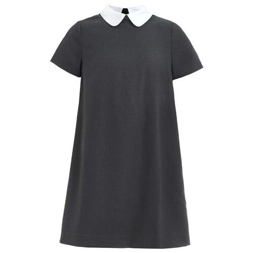 Купить Платье Gulliver размер 146, серый, Платья и сарафаны