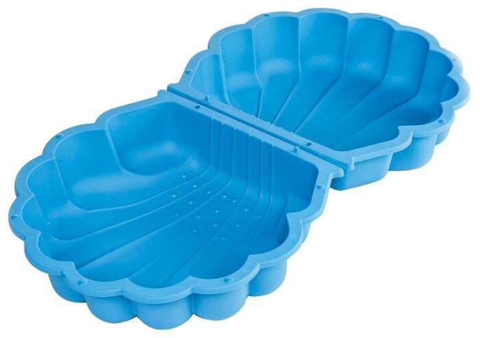Песочница-бассейн Paradiso Ракушка с крышкой маленькая — купить по выгодной цене на Яндекс.Маркете