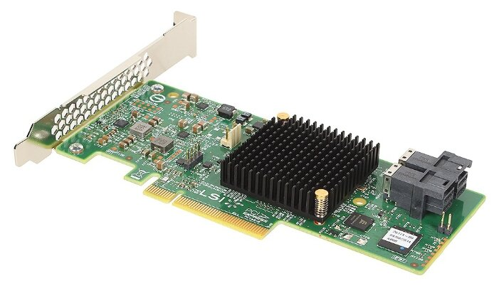 SAS/SATA RAID контроллер LSI Logic MegaRAID SAS 9341-8i SGL
