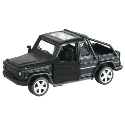 Легковой автомобиль Yako M0043 1:34 черный, Машинки и техника  - купить со скидкой