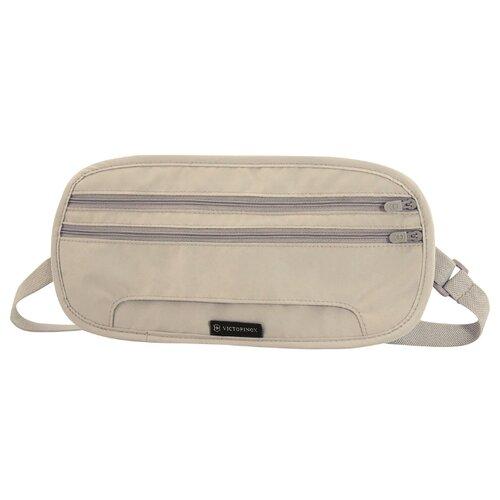 Сумка поясная VICTORINOX, текстиль, бежевый сумка поясная kite время и стекло vis19 2562 текстиль