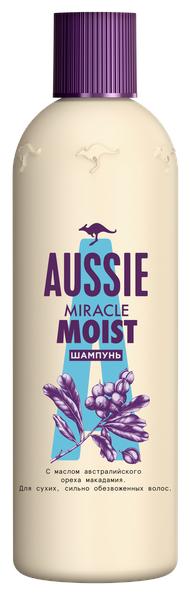 Купить Aussie шампунь Miracle Moist 90 мл по низкой цене с доставкой из Яндекс.Маркета (бывший Беру)