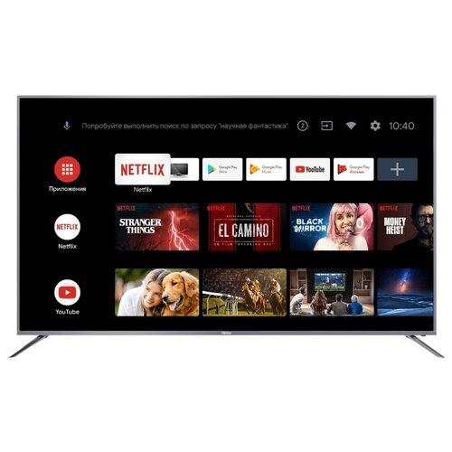 Фото - Телевизор Haier LE50U6900UG 50 (2020) серый телевизор