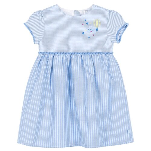 Платье COCCODRILLO размер 74, голубой