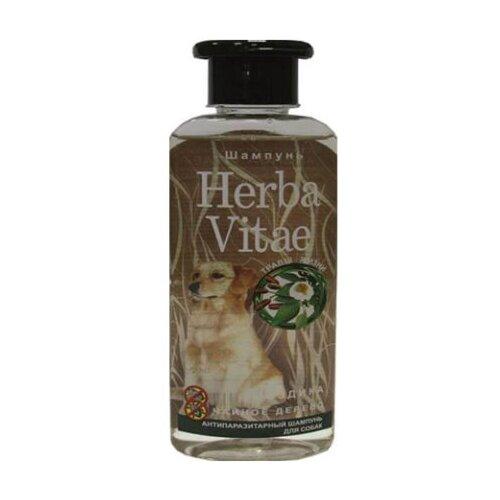Фото - Herba Vitae шампунь от блох и клещей антипаразитарный для собак 250 мл шампунь herba vitae для собак и кошек в период линьки 250 мл