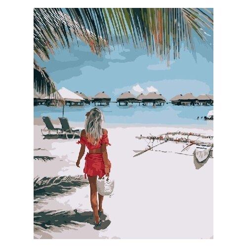 Купить Картина по номерам RADUGA RDG-3204 Райский уголок 40х50см, Картины по номерам и контурам