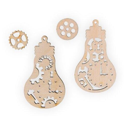 Купить Mr. Carving Набор заготовок для декорирования Лампочки ВД-523 бежевый, Декоративные элементы и материалы