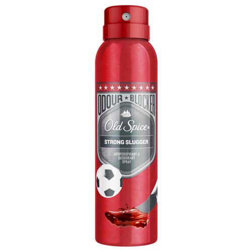 Дезодорант-антиперспирант спрей Old Spice Odour Blocker Strong Slugger, 150 мл