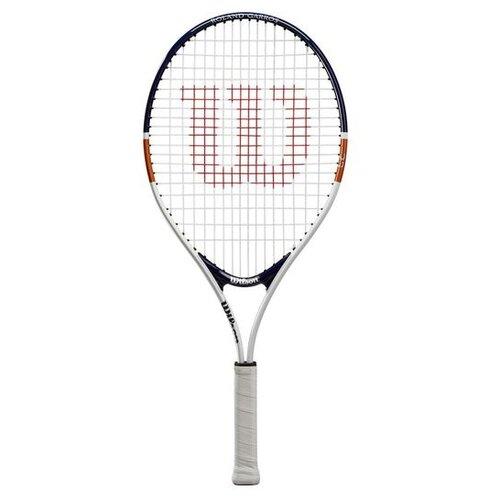 Ракетка для большого теннисаWilson Roland Garros Elite 23'' 0000 белый/синий