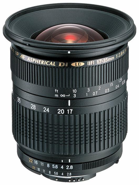 Объектив Tamron SP AF 17-35mm f/2.8-4 Di LD Aspherical (IF) (A05) Nikon F