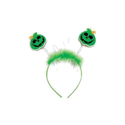 Купить Ободок Marko Ferenzo Тыква (45491), зеленый, Карнавальные костюмы