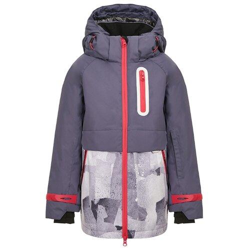Купить Куртка Oldos Ава размер 170, серый, Куртки и пуховики