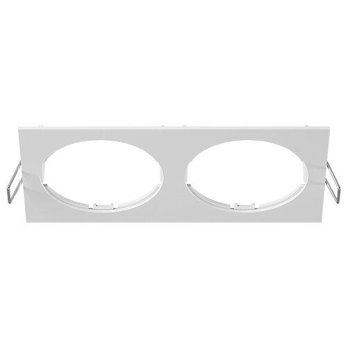 Декоративная рамка Lightstar Intero 16 Quadro 217526 / 217527 / 217529 на 2 светильника белый
