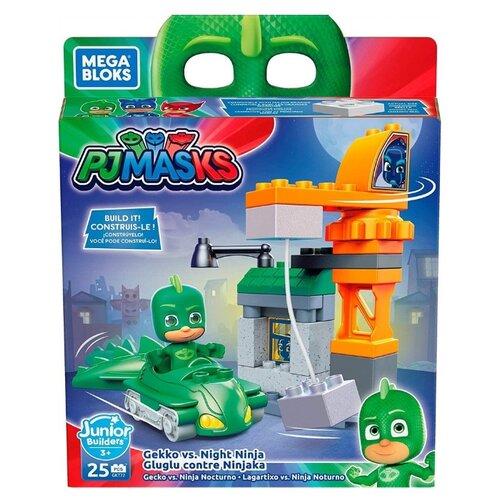 Фото - Конструктор Mega Bloks Junior Builders GKT72 Герои в масках Гекко mattel mega bloks dxh34 разные формы