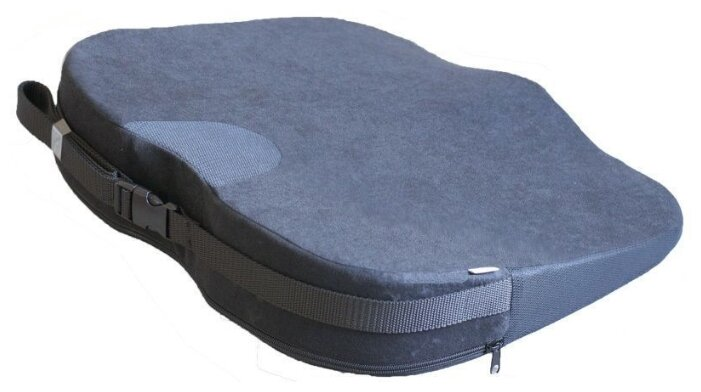 Ортопедическая подушка на сидение Trelax SPECTRA SEAT П17, Цвет Серый