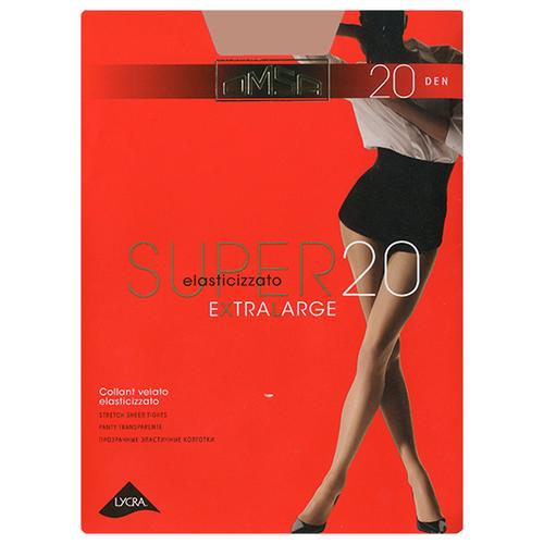 Колготки Omsa Super XL 20 den, размер 5-MAXI, caramelloКолготки и чулки<br>