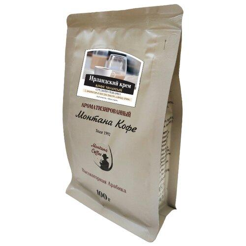 цена на Кофе молотый Монтана Ирландский крем ароматизированный, 100 г