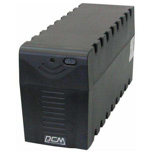 Интерактивный ИБП Powercom RAPTOR RPT-1000A черный ибп powercom srt 1000a
