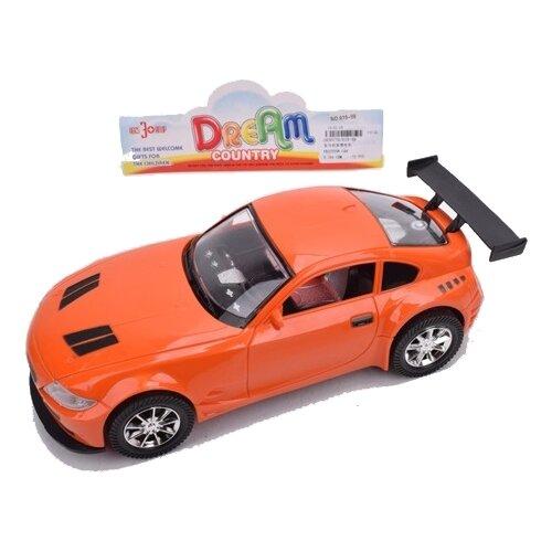 Легковой автомобиль China Bright Pacific 1830779, 26.5 см, оранжевый