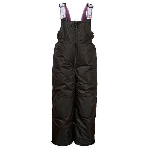 Купить Полукомбинезон Oldos Фил OAW203T1PT21 размер 98, черный, Полукомбинезоны и брюки