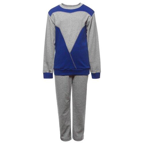 Спортивный костюм M&D размер 116, синий, Спортивные костюмы  - купить со скидкой