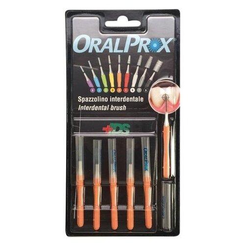 Зубной ершик Dr.Care ORALPROX №4, оранжевый, 6 шт.
