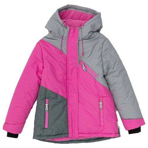 Купить Куртка Button Blue Active 220BBGA41051200 размер 128, розовый, Куртки и пуховики