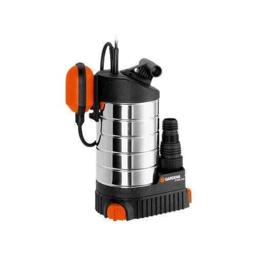 Фото - Дренажный насос для чистой воды GARDENA 21000 Premium Inox (1000 Вт) дренажный насос для чистой воды leo lks 1004p 1000 вт