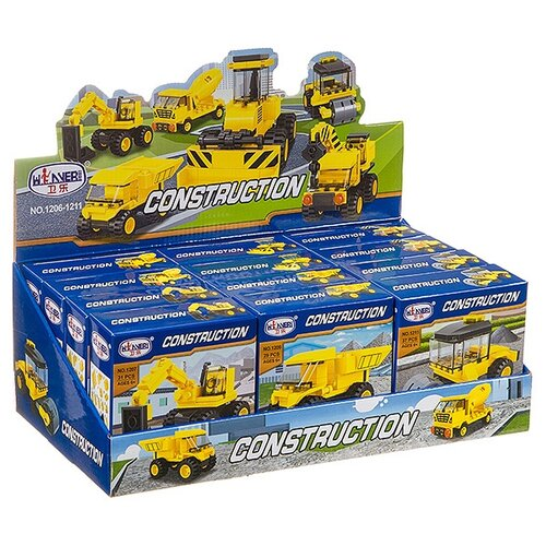 Купить Конструктор Winner Construction 1206-1211 (12 шт.), Конструкторы