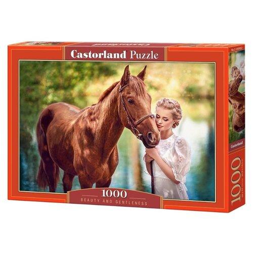Купить Пазл Castorland Красота и нежность (C-104390), 1000 дет., Пазлы