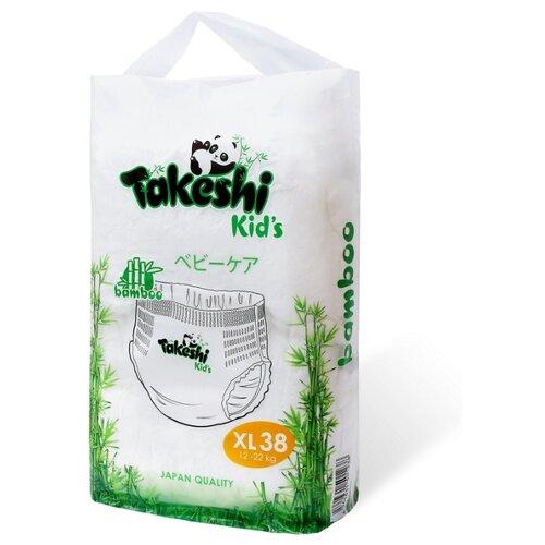 Takeshi трусики бамбуковые Kid's XL (12-22 кг) 38 шт.