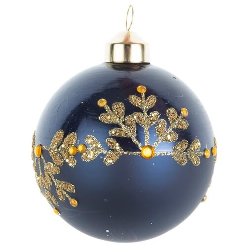 Набор шаров KARLSBACH 08895, синий/золотой