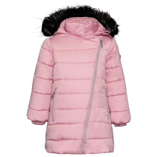 Купить Пуховик Button Blue 219BBGC4501 размер 128, розовый, Куртки и пуховики