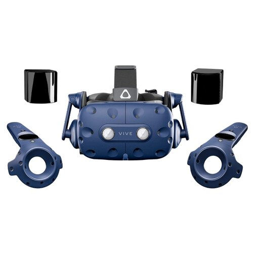 Фото - Шлем виртуальной реальности HTC Vive Pro Eye, синий шлем виртуальной реальности htc vive cosmos elite черный