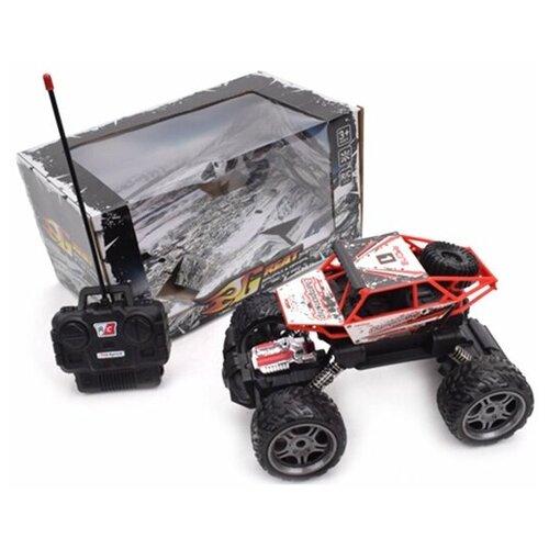 Купить Монстр-трак Наша игрушка SL230-7A 1:18 23.5 см красный, Радиоуправляемые игрушки