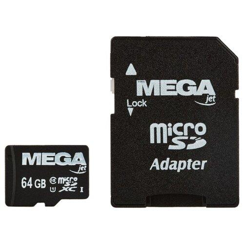 Фото - Карта памяти ProMega jet microSDXC UHS-I Cl10 + адаптер, PJ-MC-64GB pj wx4152n