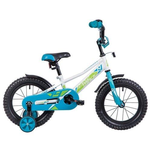 Детский велосипед Novatrack Valiant 14 (2019) белый (требует финальной сборки) детский велосипед novatrack vector 18 2019 серебристый требует финальной сборки