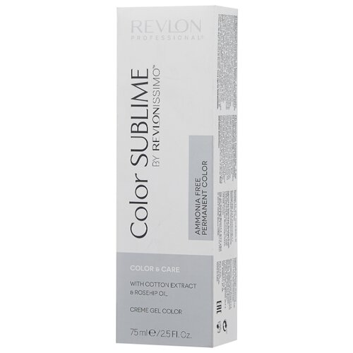 Revlon Professional Revlonissimo Color Sublime стойкая краска для волос, 75 мл, 7.34 блондин золотисто-медный