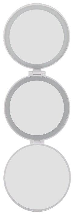 Зеркало косметическое карманное Rio MMCI с подсветкой