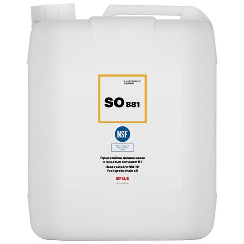 Цепное масло EFELE SO-881 с пищевым допуском (5 л)