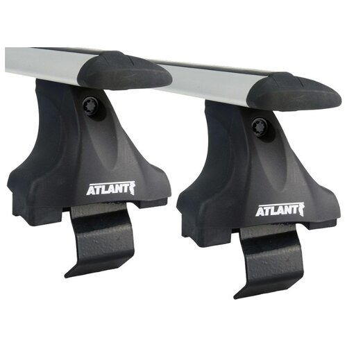 Багажник на крышу Atlant, 8823+7002+7157, крыловидные дуги 1,1м на Датсун Он-До 2014-2020, арт:21257-06