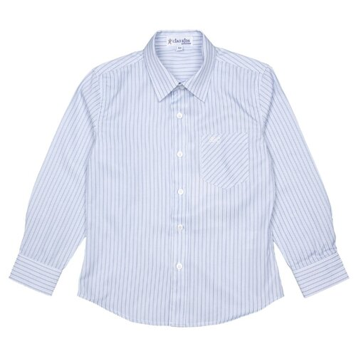 Рубашка Ciao Kids Collection размер 10 лет, голубой